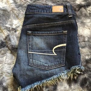 American eagle shorts distressed